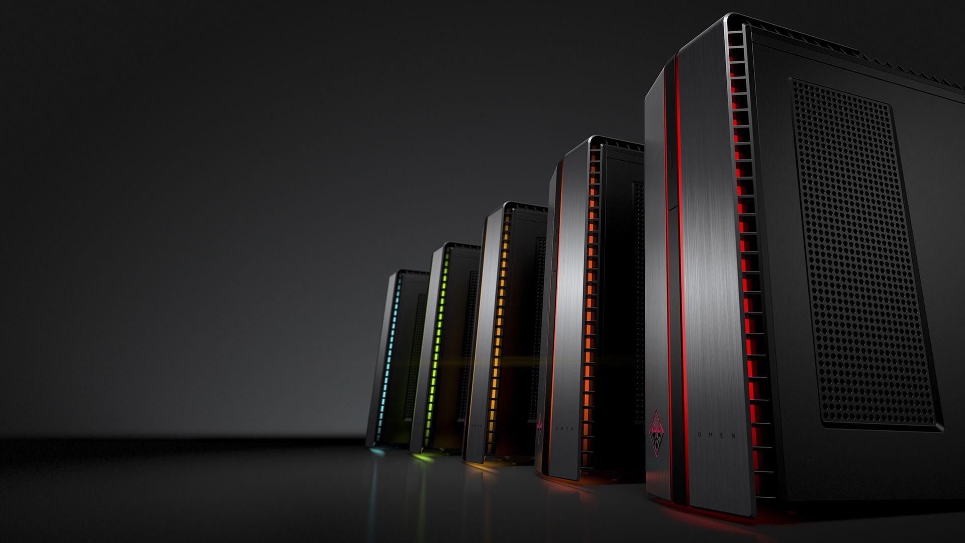 HP Omen Desktop gaming PC towers