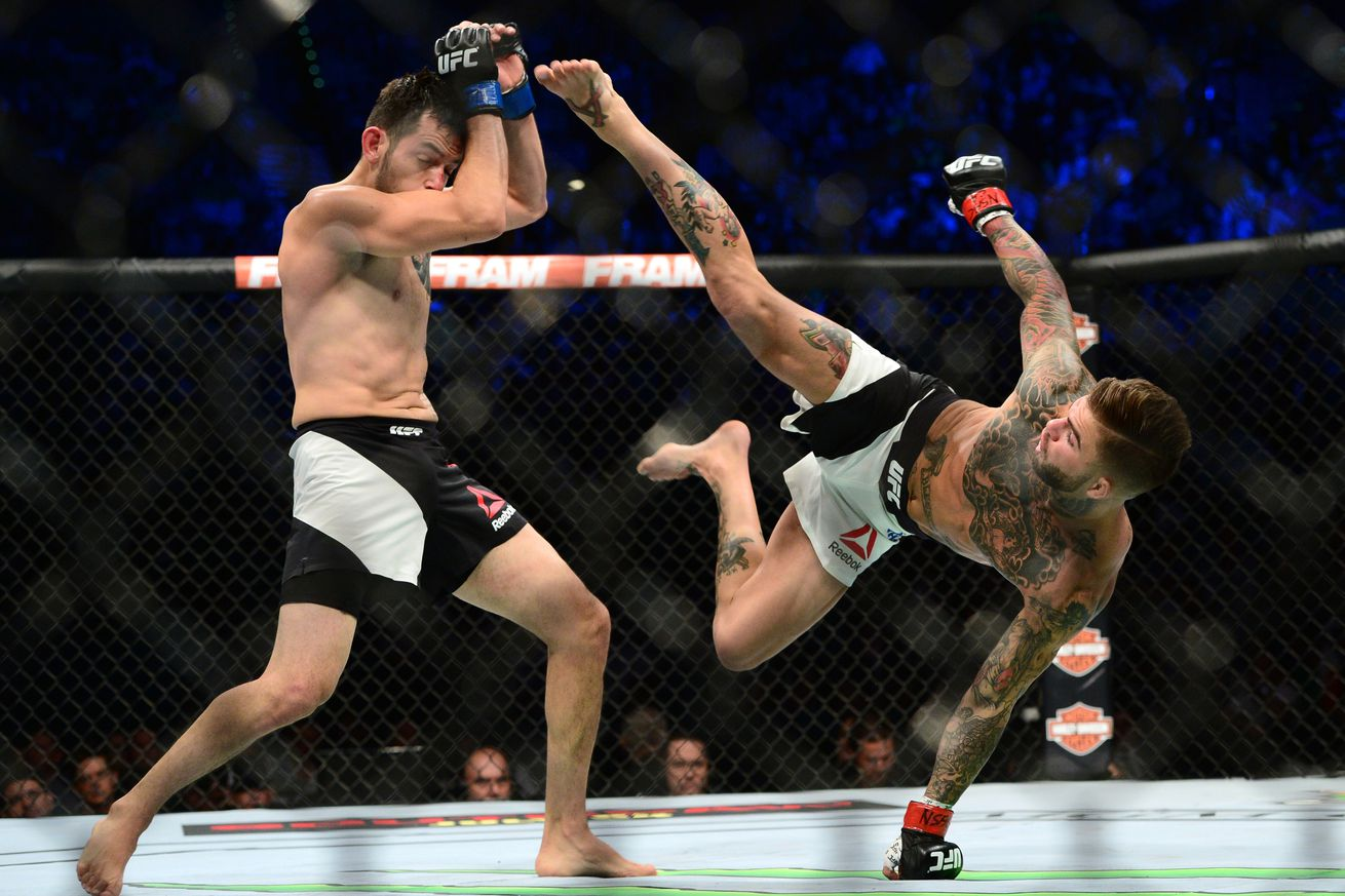 UFC Fight Night 83 fight card: Cody Garbrandt vs Augusto Mendes full fight preview
