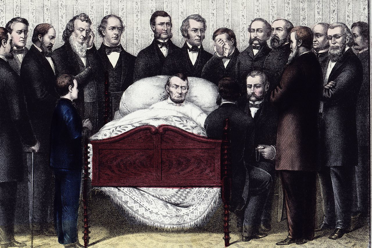 ... lincoln the names of those surrounding lincoln date 6 may 1865 source