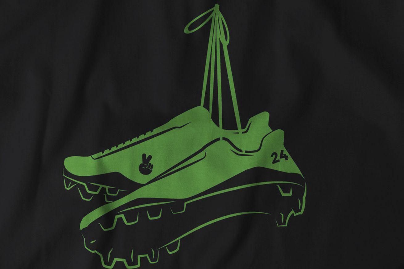 Marshawn Lynch retires: The commemorative t-shirt