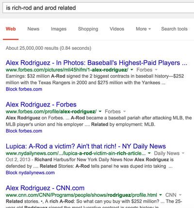 RichRod Google