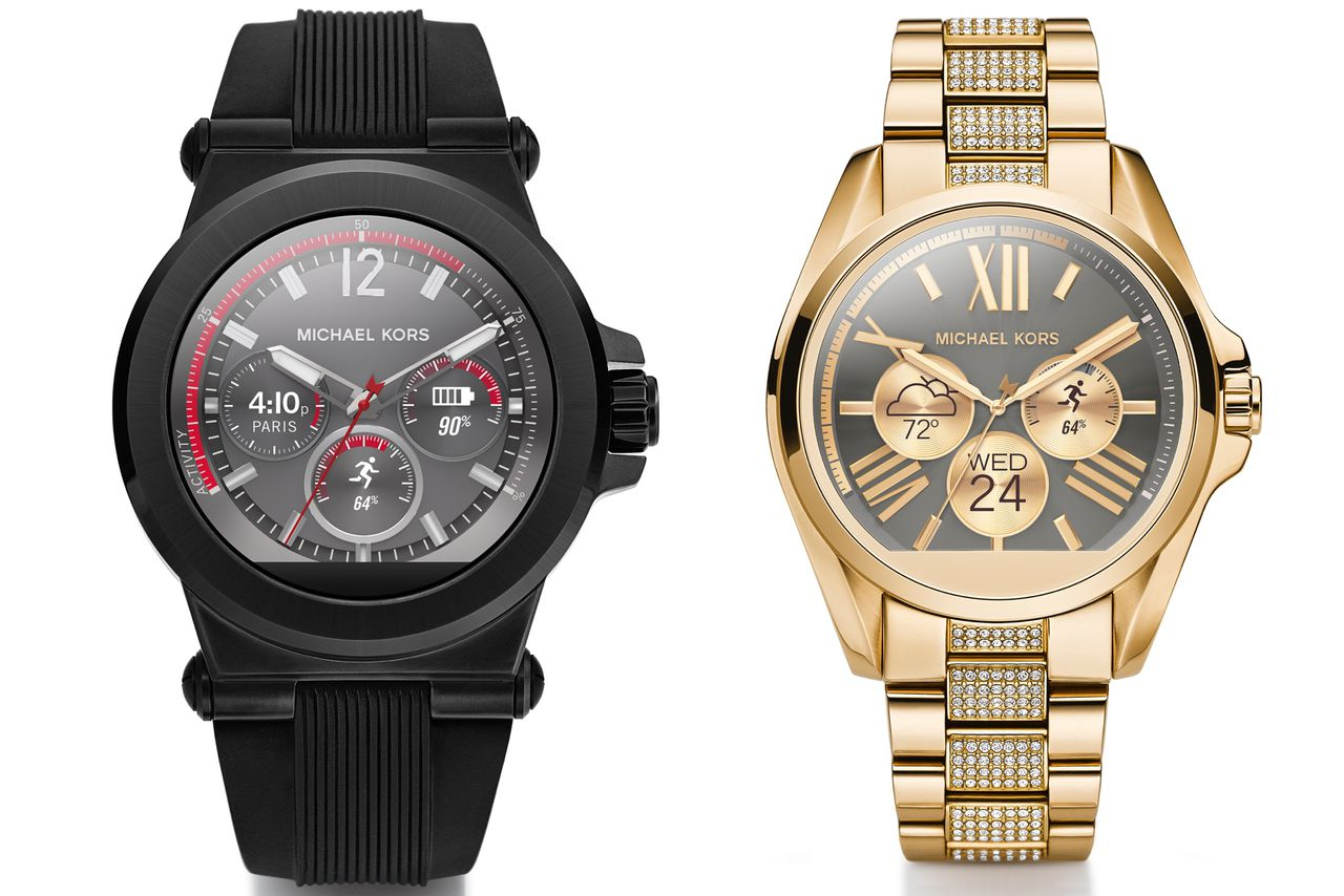 Michael Kors launches his first smartwatch line