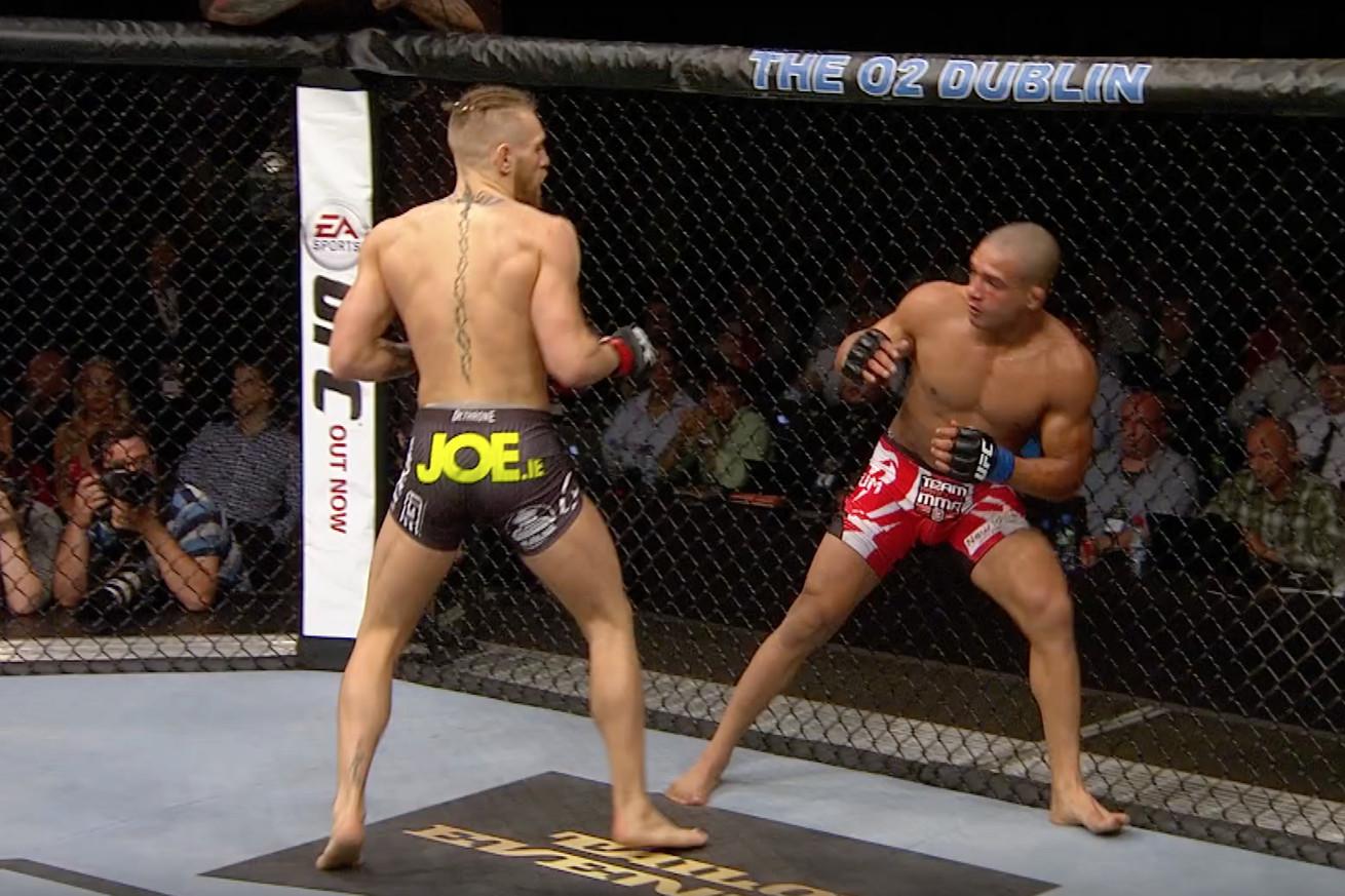 community news, Conor McGregor vs. Diego Brandao full fight video