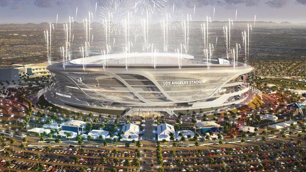 Raiders Stadium News Silver And Black Pride