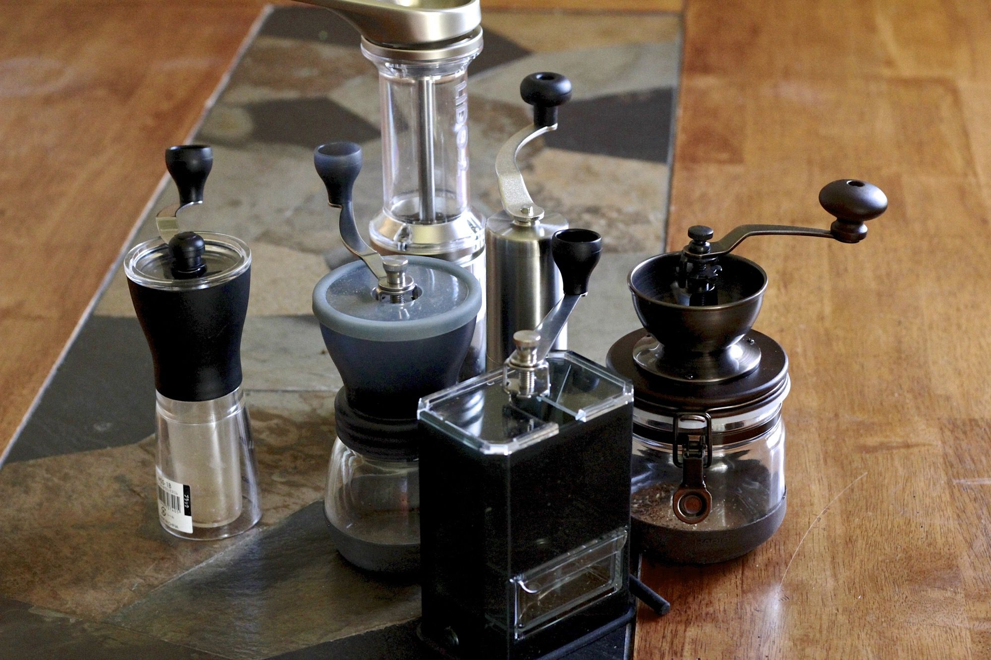 Hand Coffee Grinder ~ Gadget review six of the best hand coffee grinders eater