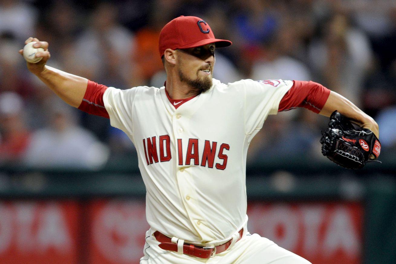 Indians place pitcher Danny Salazar on paternity list