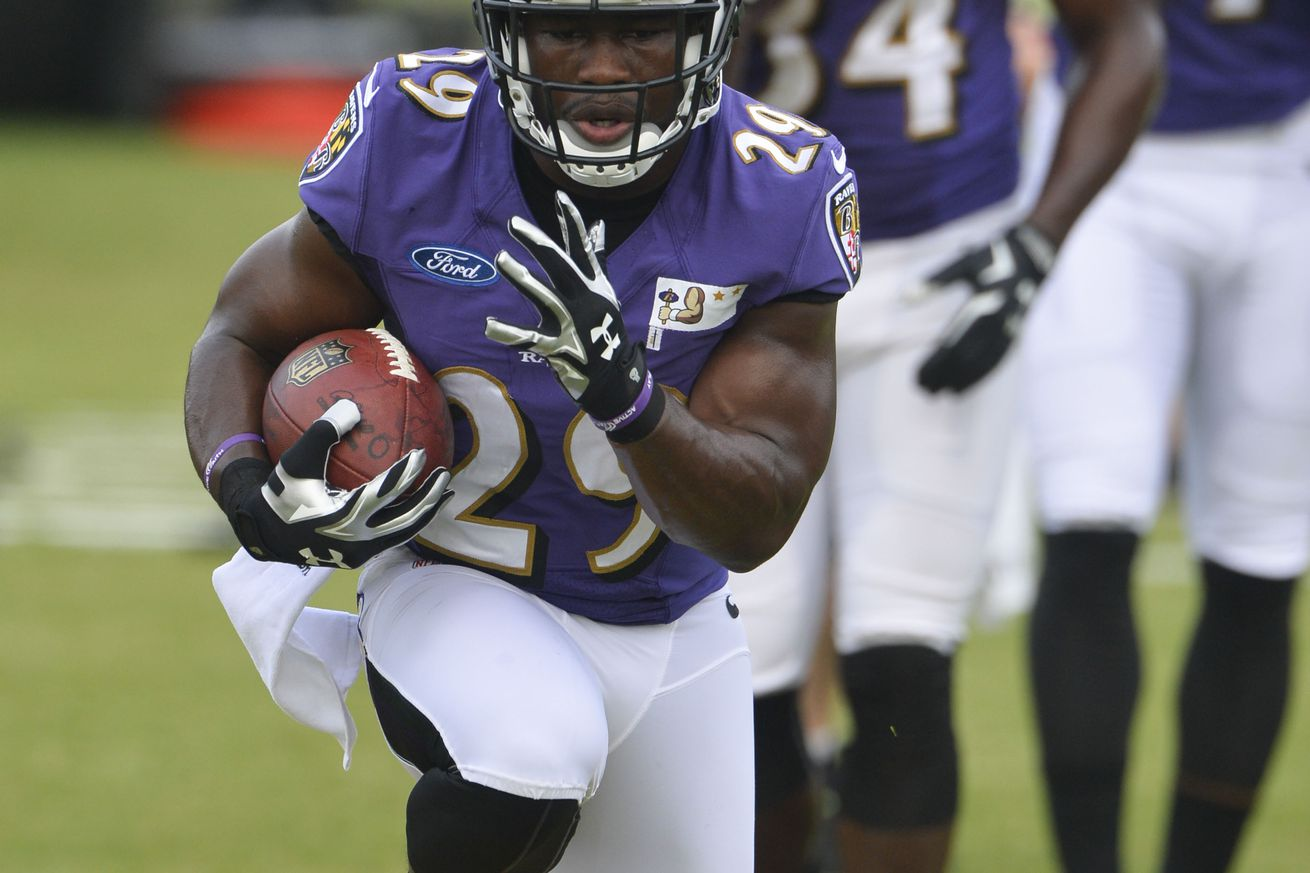 "Ravens RB Justin Forsett: ""It's my duty to pass that on"""