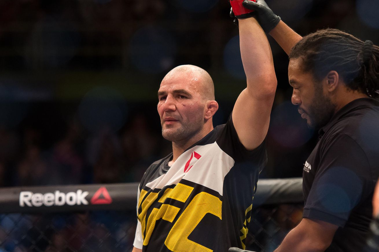 community news, UFC Quick Quote: Glover Teixeira accepted fight with Rashad Evans, before knowing opponent was Suga