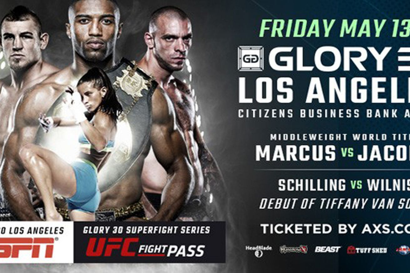 GLORY fighters will appear on ESPN Sportscenter this week, Todd Grishman to serve as backstage reporter for GLORY 30