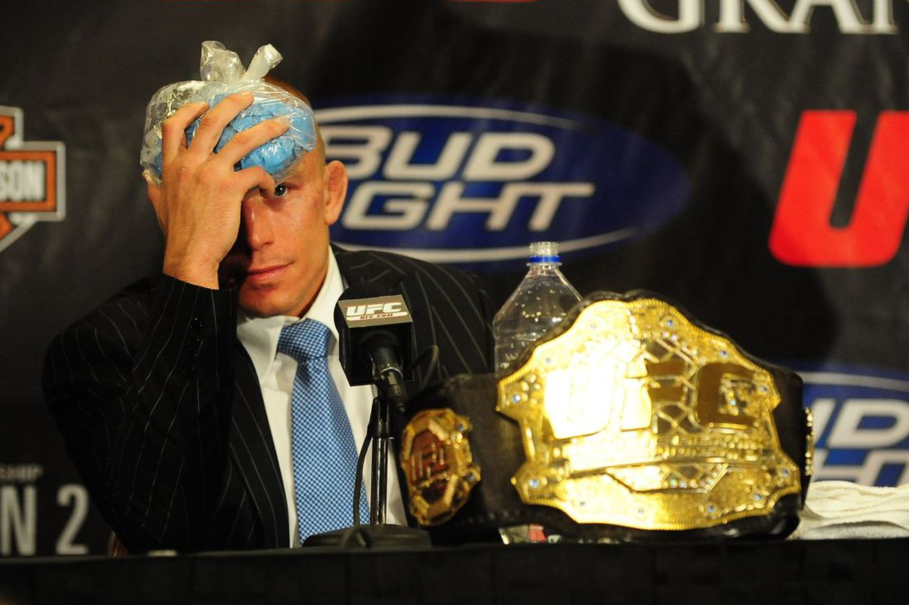 Georges St Pierre drank bad watermelon juice night before fighting Nick Diaz at UFC 158 ... and things got messy