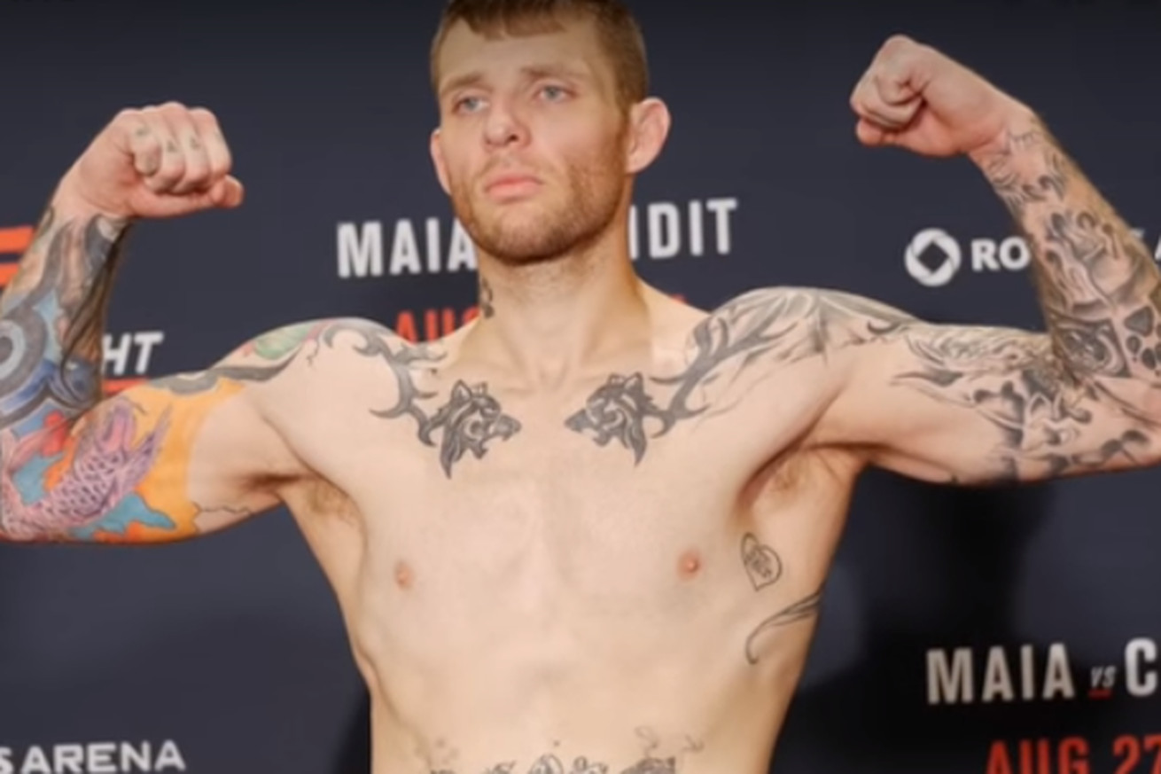 UFC newcomer Adam Hunter popped for a potential USADA violation, pulled from UFC on FOX 21 card