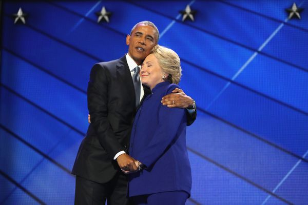 More like hugger in chief.