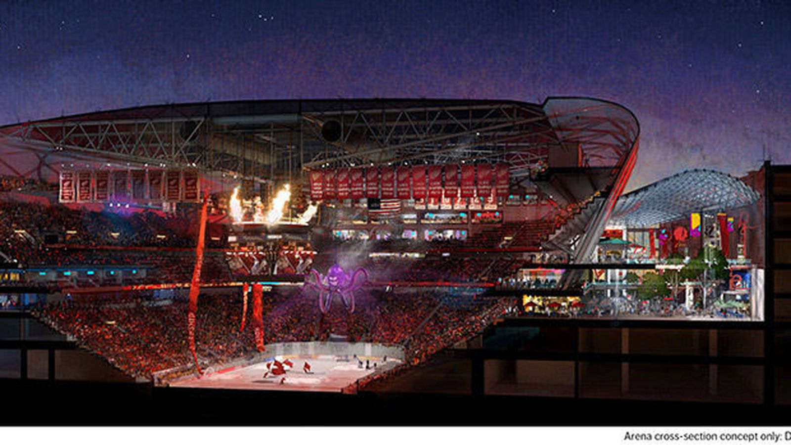 Red Wings Arena Announces A Groundbreaking Date Curbed