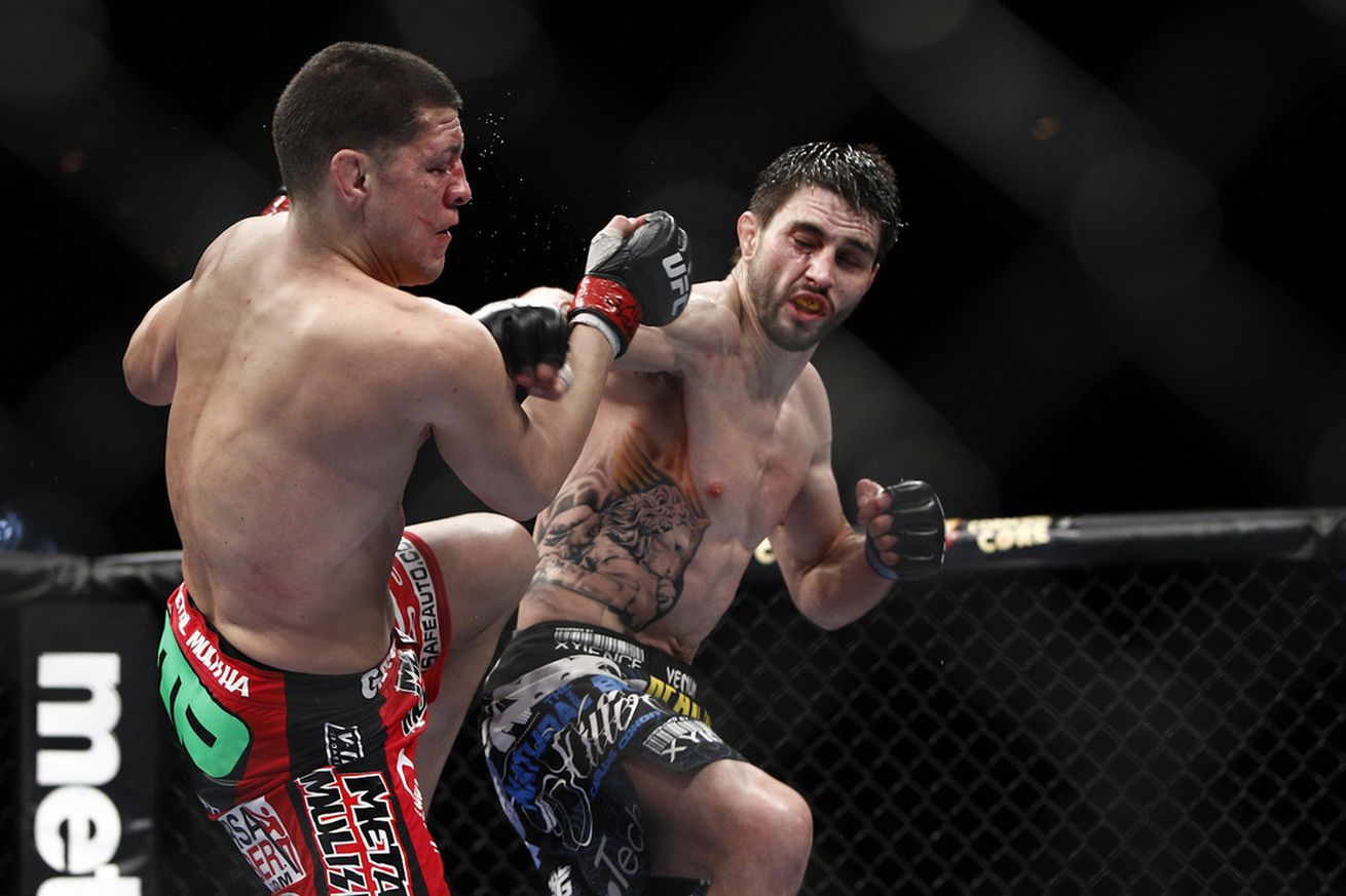 community news, Former interim UFC welterweight champion Carlos Condit apparently training for Nick Diaz rematch