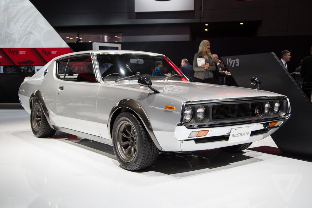 nissan 39 s vintage skylines are the most beautiful cars at the new york auto show the verge. Black Bedroom Furniture Sets. Home Design Ideas