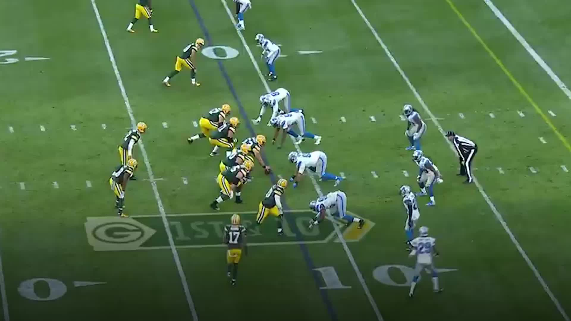 Lions only had 10 men on the field for Packers' game-winning field goal try