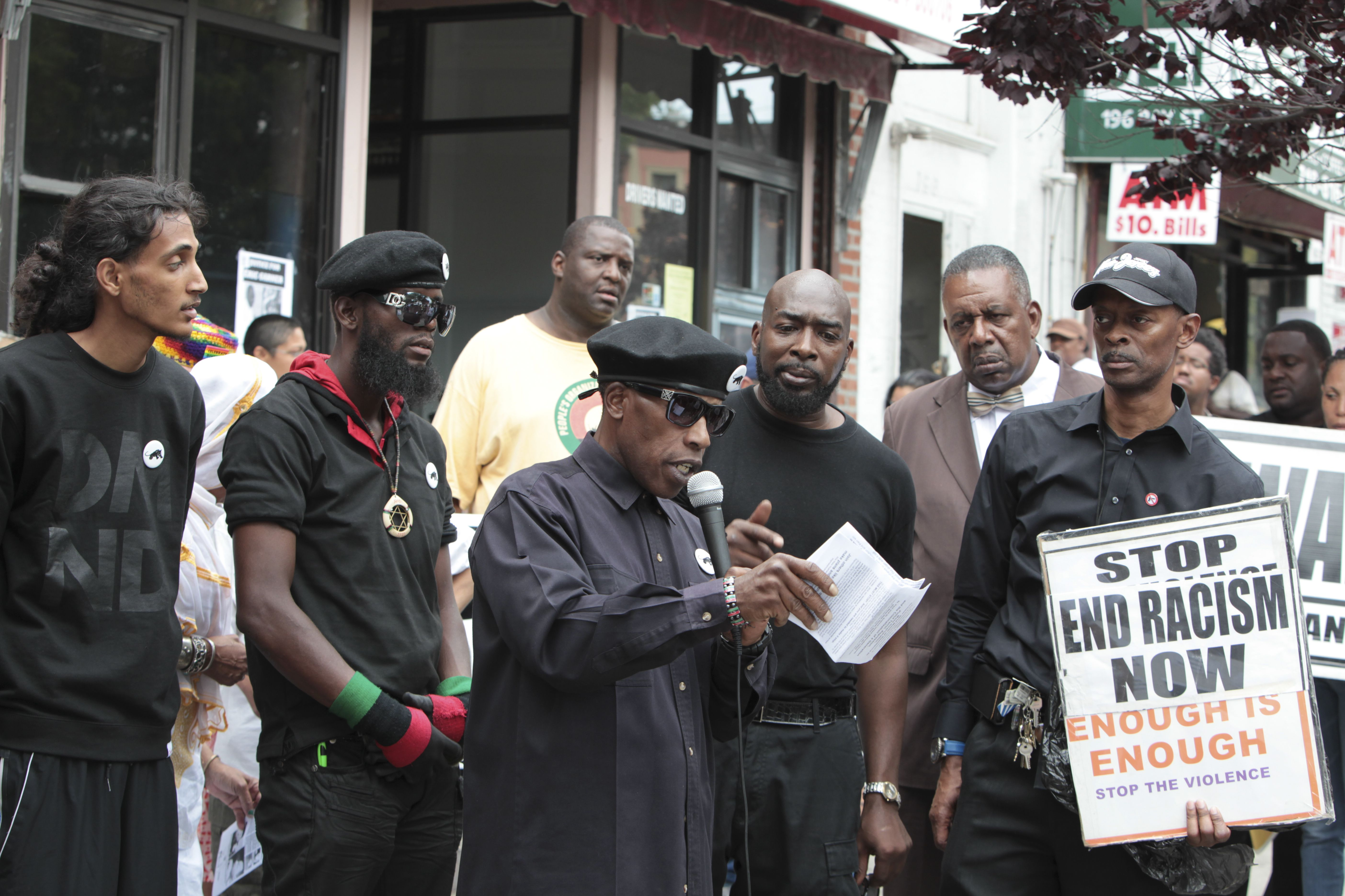 black panther party intimidating voters Intimidation is already underway in florida, courtesy of the afl-cio rather than the militarized uniforms and billyclubs used by the new black panthers in philadelphia in 2008, the latest threat is a letter promising lawsuits two florida voters [update 7:26 pm cdt – see a comment in the comment section.