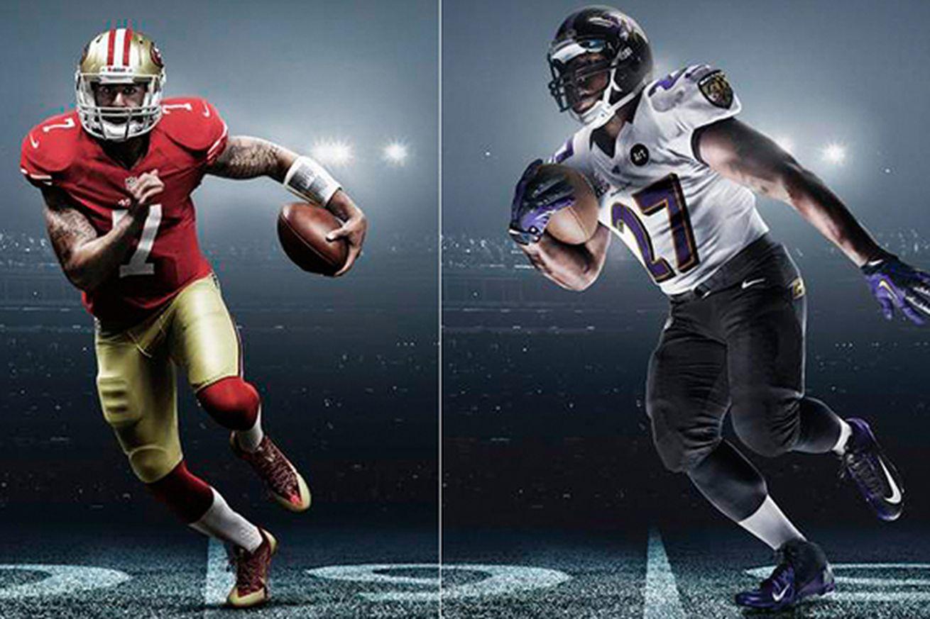 Nfl New Uniforms 2013 49ers Super Bowl 2013: Nike ...