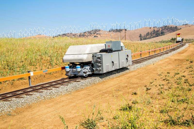 ARES rail car