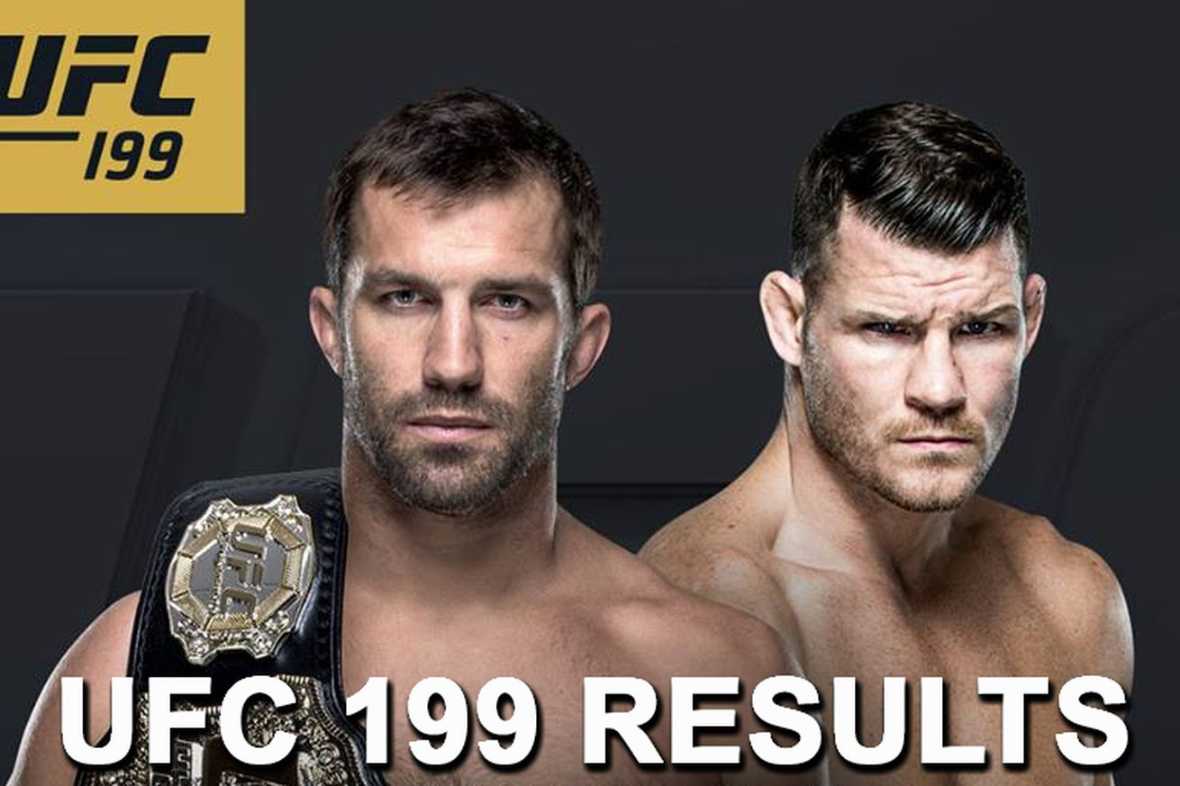 community news, UFC 199 live stream results: Rockhold vs Bisping 2 play by play updates