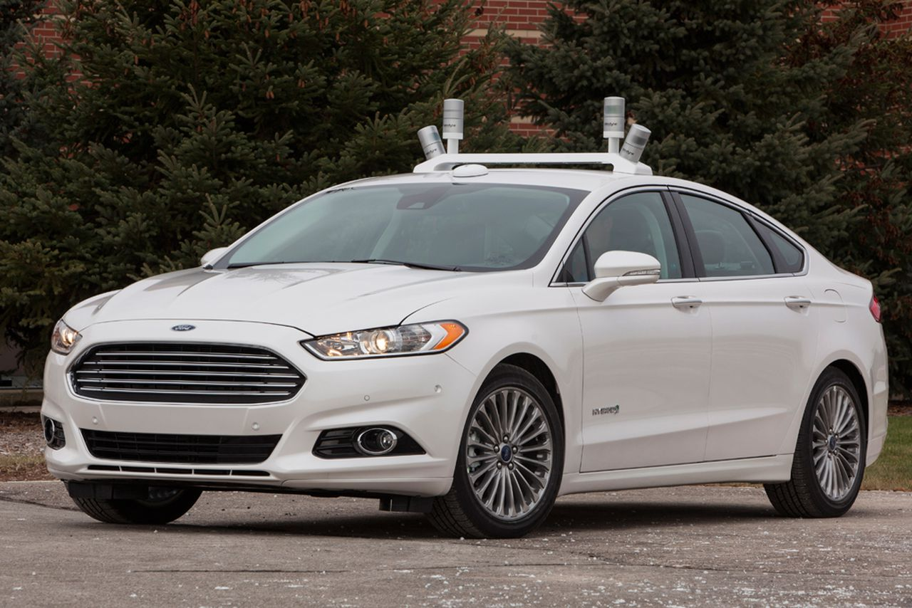 Ford Fiesta Roof Rack >> Ford and Google are still considering making self-driving ...