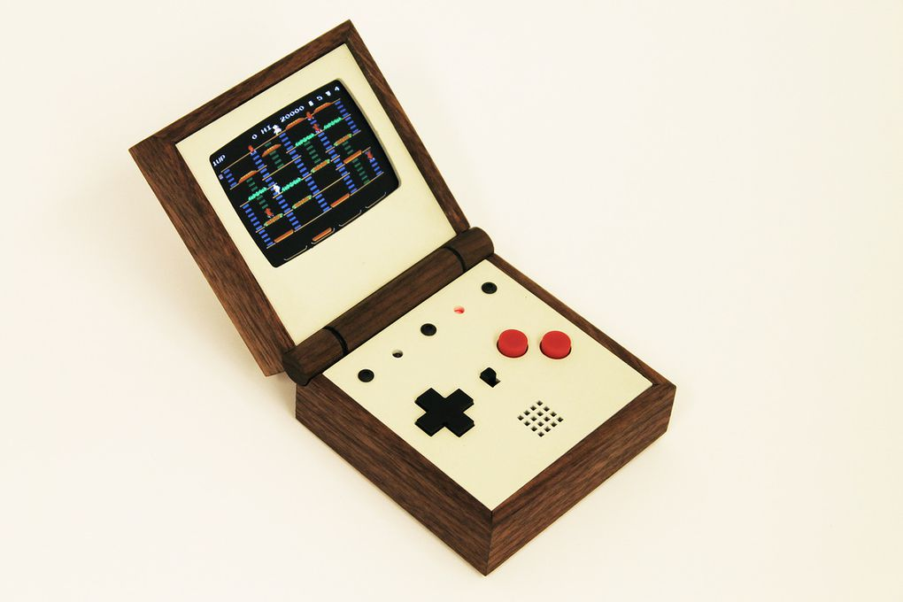 Pixel Vision Is A Beautiful Handmade Portable Gaming