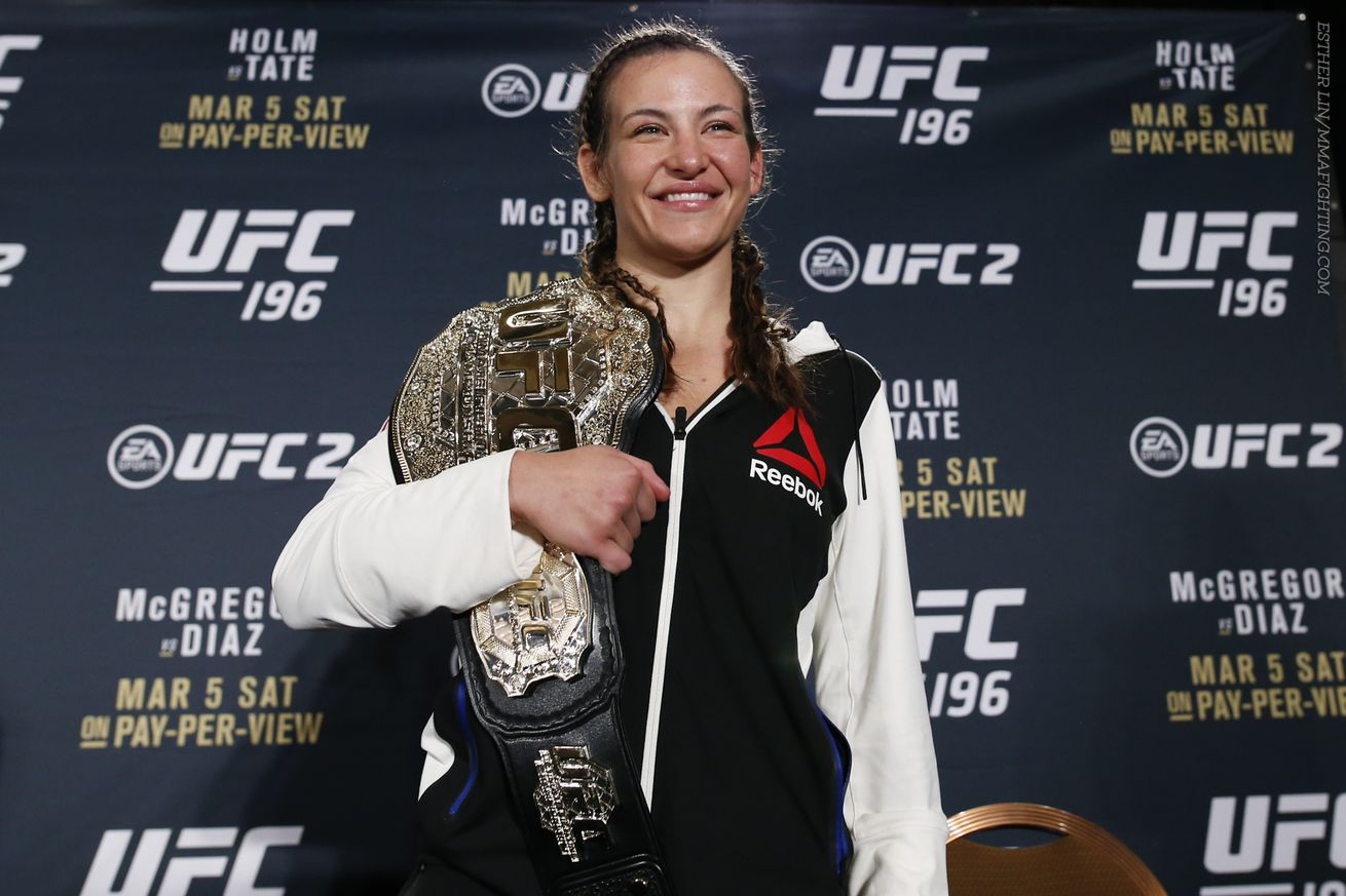 community news, Miesha Tate becomes an unlikely ray of sunshine for Ronda Rousey (and other crazy things)