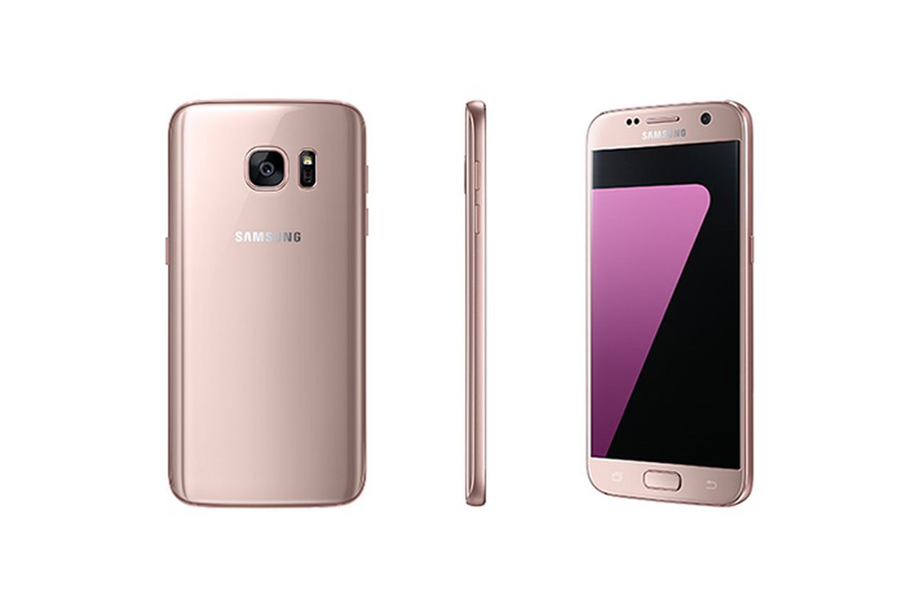 Samsung Announces Pink Gold Version Of Galaxy S7 And S7