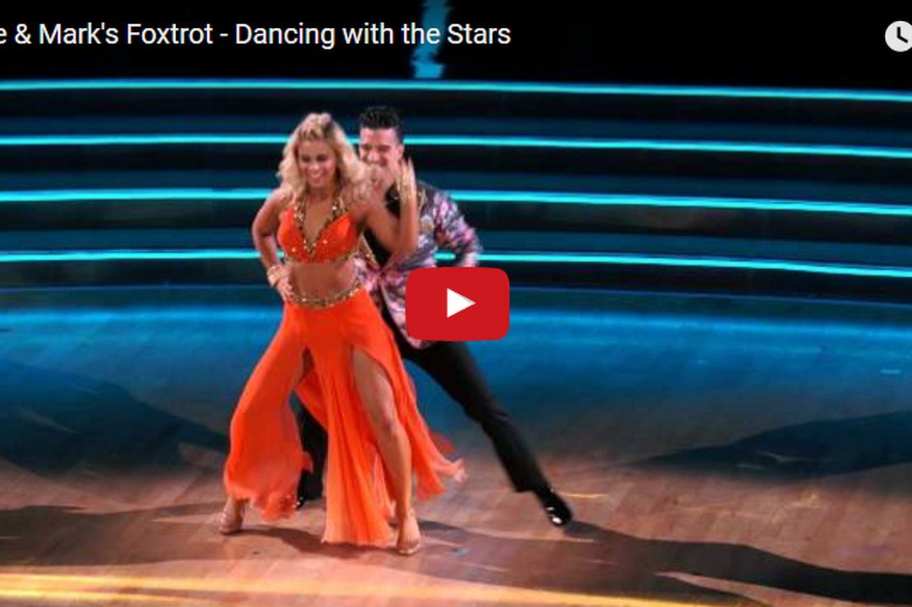 community news, Video: Paige VanZant Dancing with the Stars (DWTS) Foxtrot ends with standing ovation
