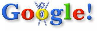 Burning man Google Logo