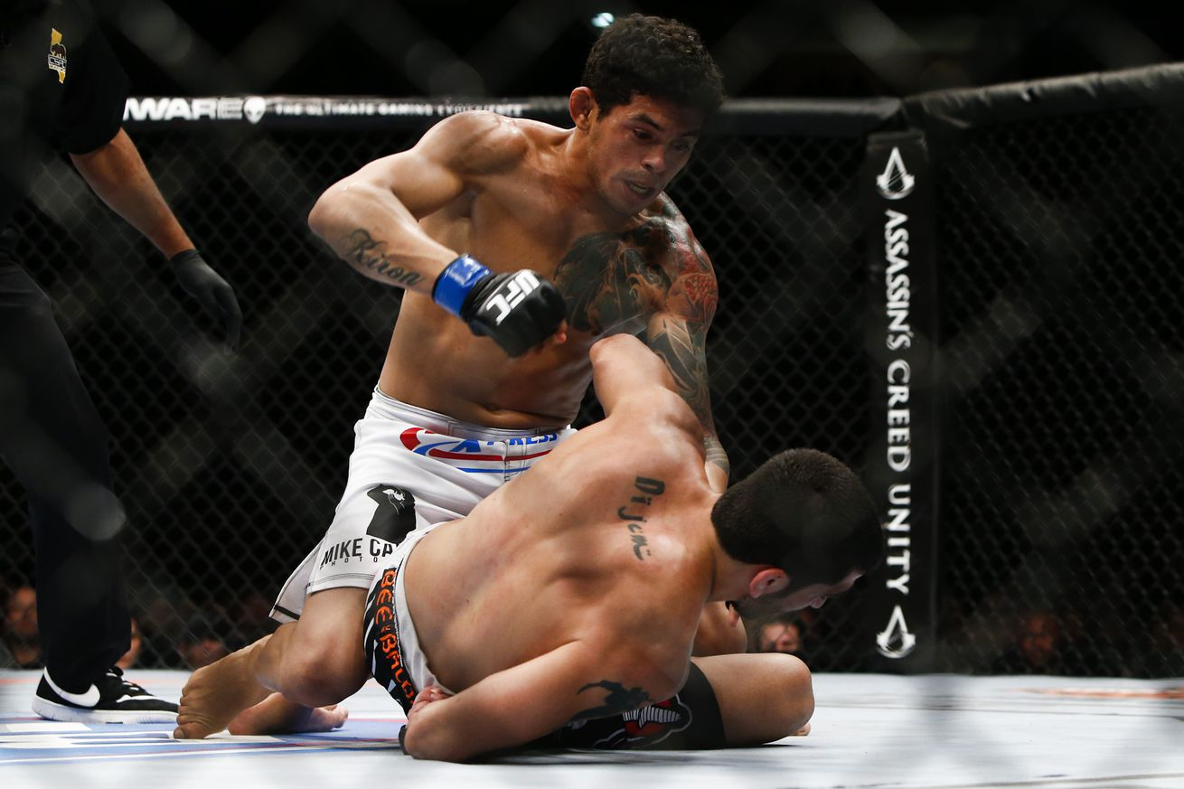community news, Carlos Diego Ferreira flagged for potential USADA violation, pulled from Abel Trujillo fight
