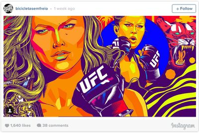 community news, Pic: UFC champ Ronda Rousey gets new mural on Ocean Front Walk in Venice Beach, Calif.