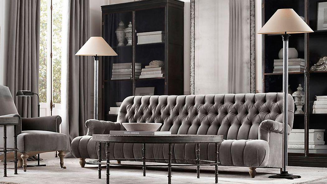 Restoration hardware is hosting an epic warehouse sale for Restoration hardware furniture manufacturer