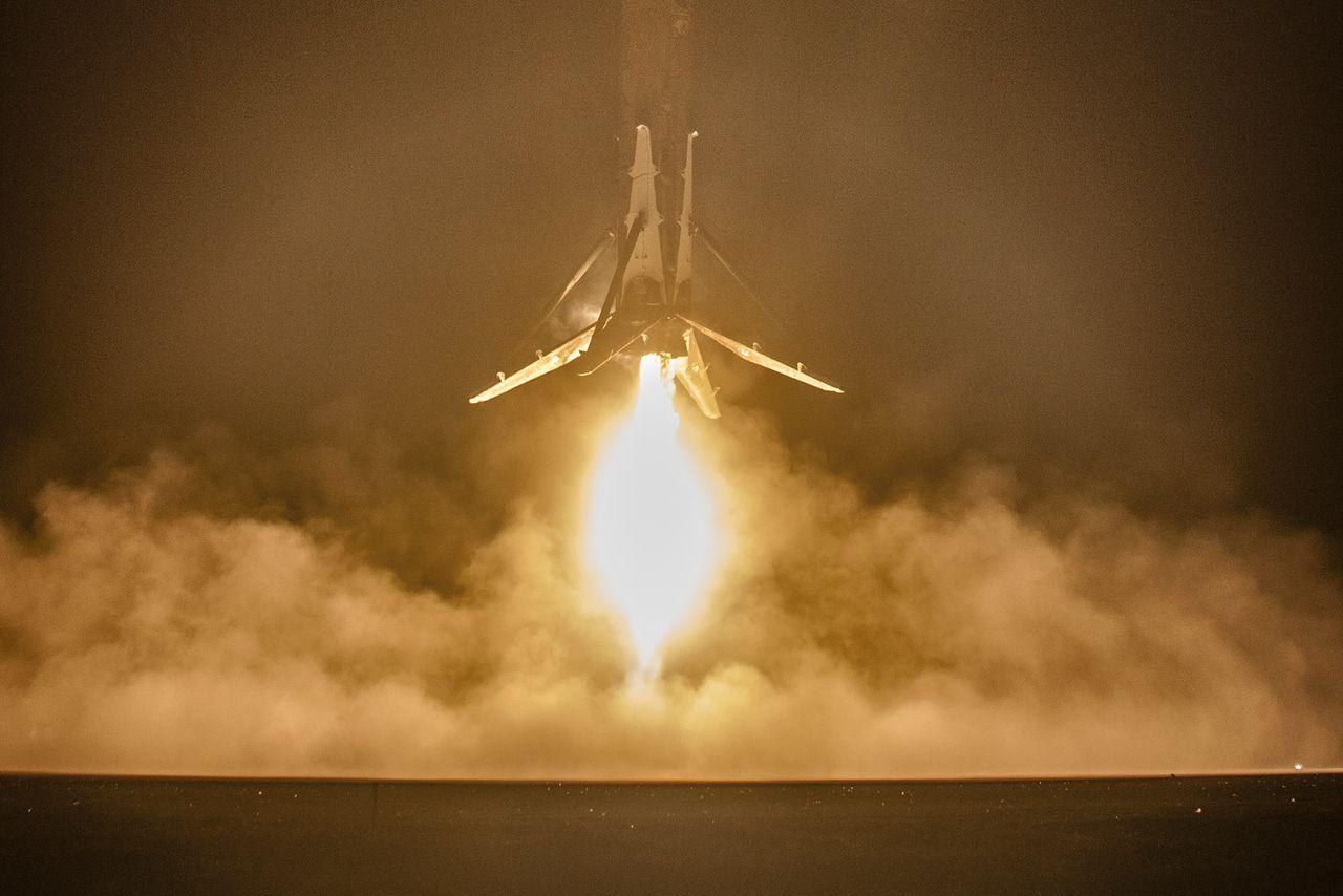 spacex reusable rocket splash down - photo #37