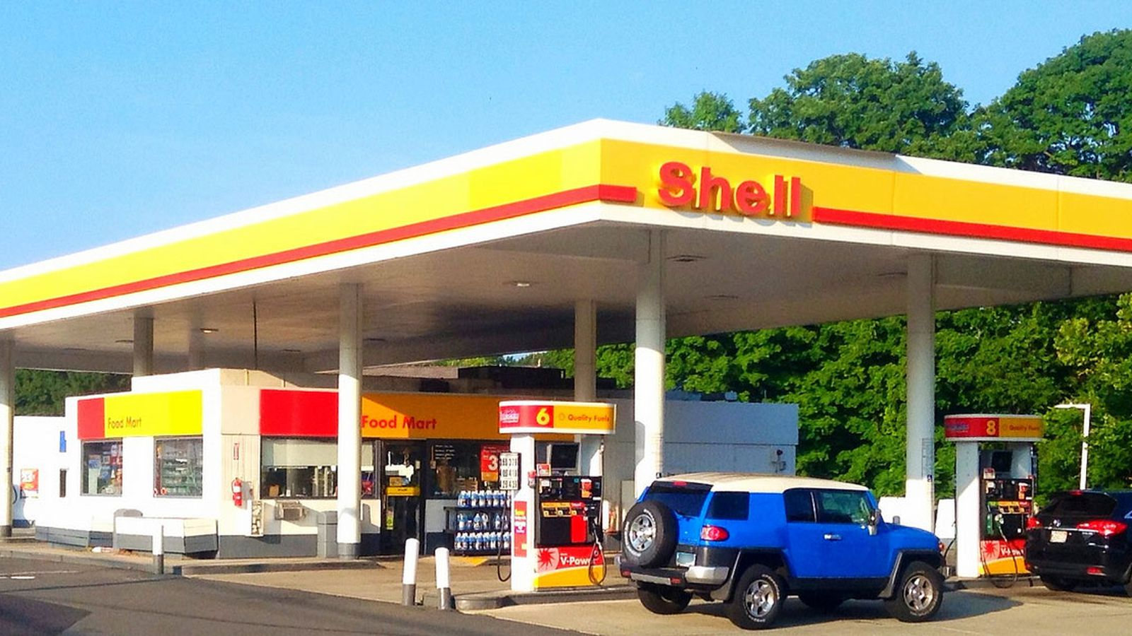 Shell Gas Station Mexican Food
