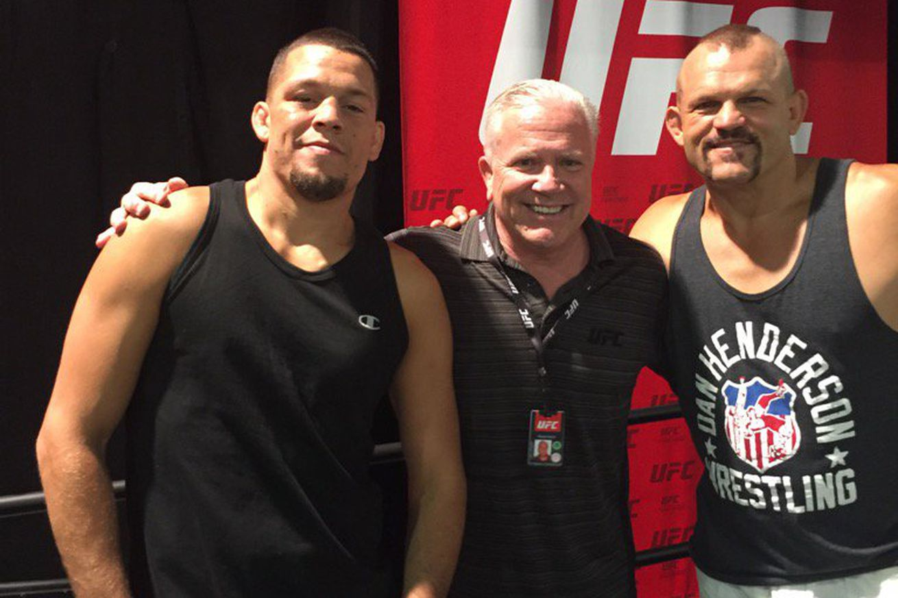 Pic: Nate Diaz got so huge he may have to fight Conor McGregor at light heavyweight