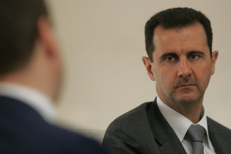 bashar assad Sasha Mordovets/Getty Images