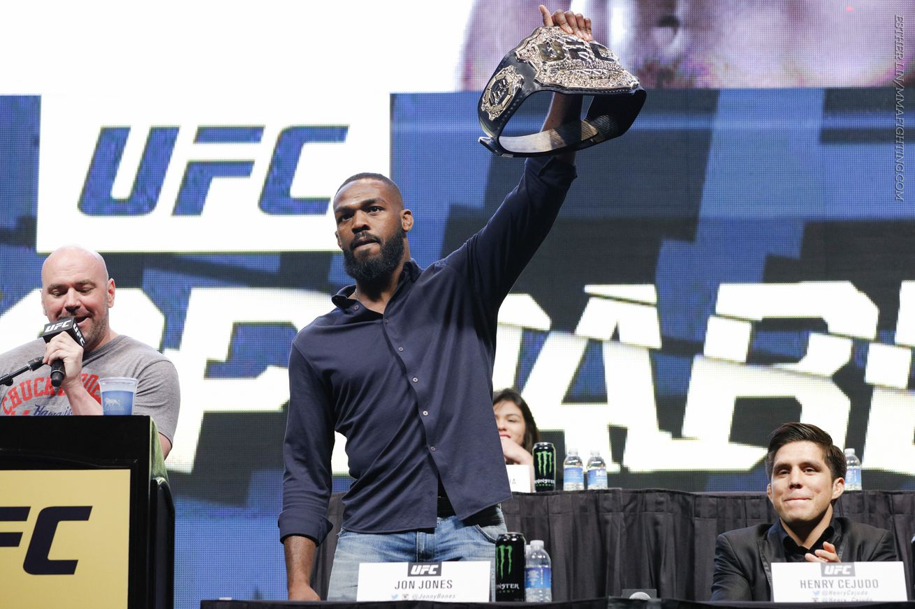 community news, Jon Jones no longer looking at future plans at heavyweight, wants to 'rack up as much money and as many wins as I can