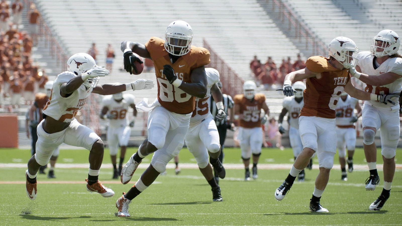 Texas football 2012 tight end position preview burnt orange nation