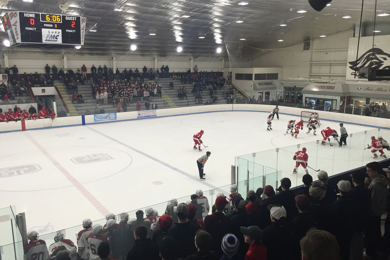 MIAA Super 8 Tournament Play-In Games Scoreboard - SB Nation College Hockey