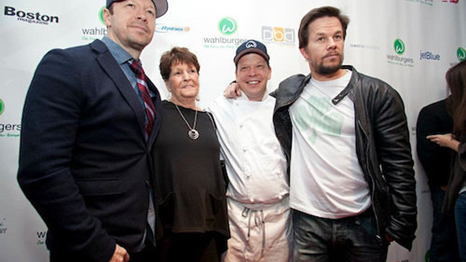 Paul Wahlberg Family Wahlburgers burger chain