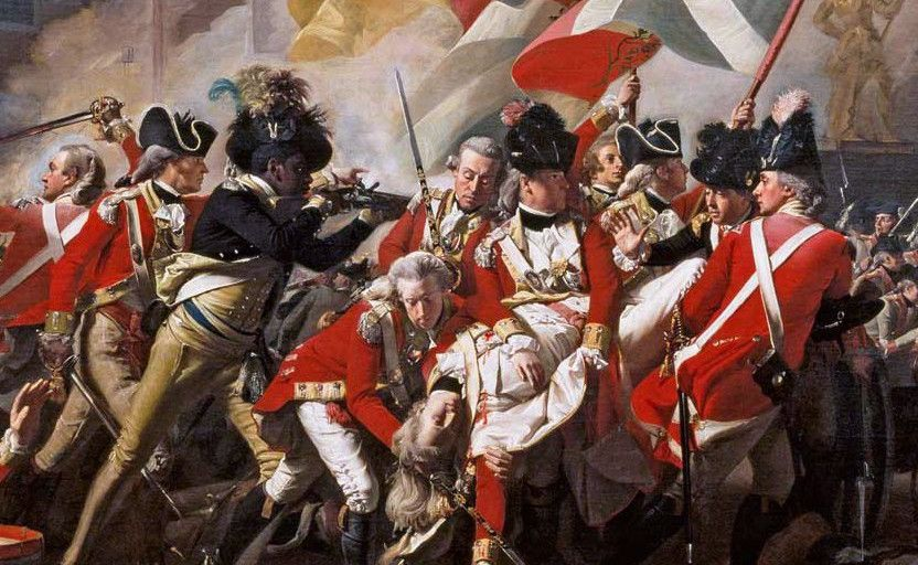 the battle of the bunker hill as the most important colonial victories in the us war for independenc American war of independence 1775 - 1783 the american war of independence,  battle of bunker hill, massachusetts,.