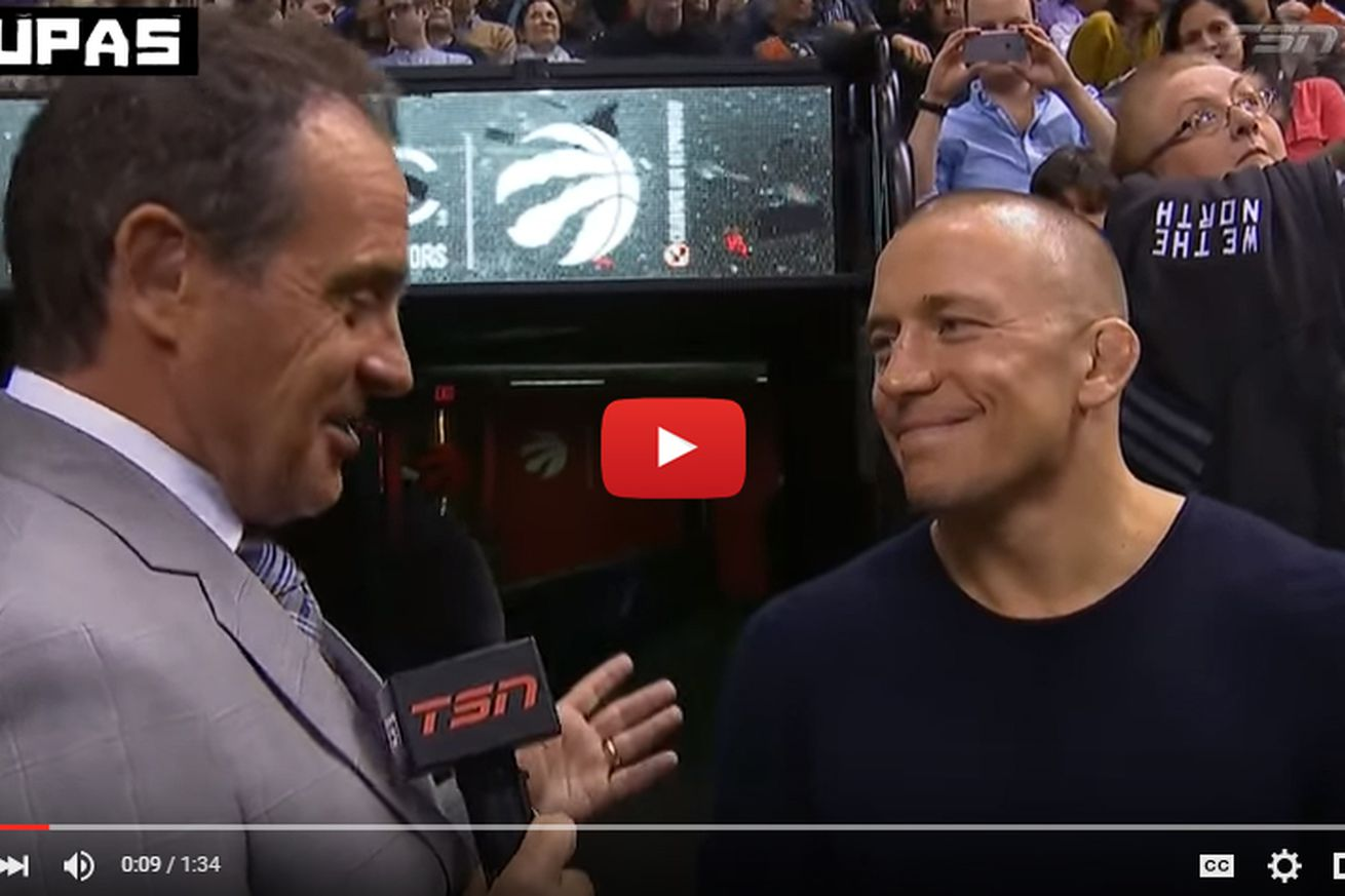 community news, Georges St Pierre on secret negotiations for UFC return: Everything is possible (Video)