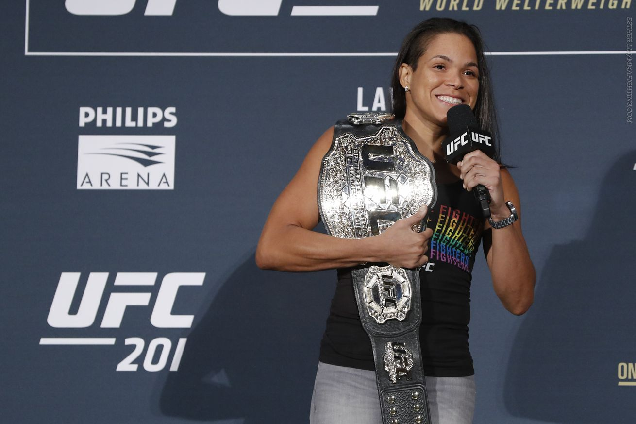 Amanda Nunes: 'I want Ronda Rousey in New York'