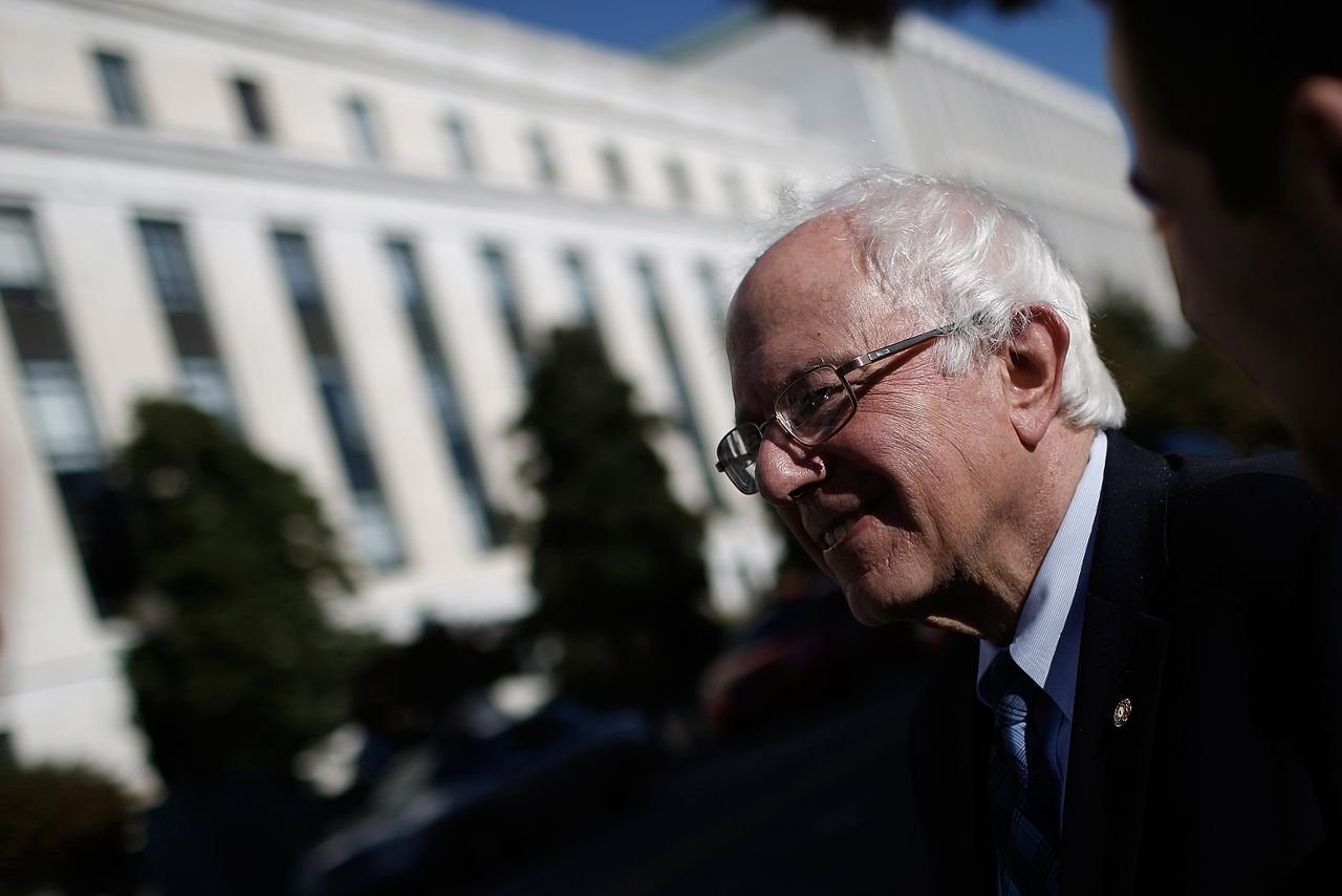Bernie Sanders wants to win the pot by legalizing marijuana
