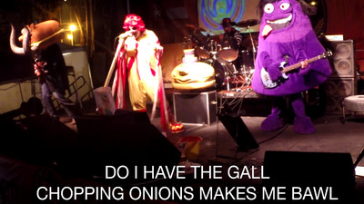 Deranged McDonald's-Themed Black Sabbath Cover Band Is Scary as Hell