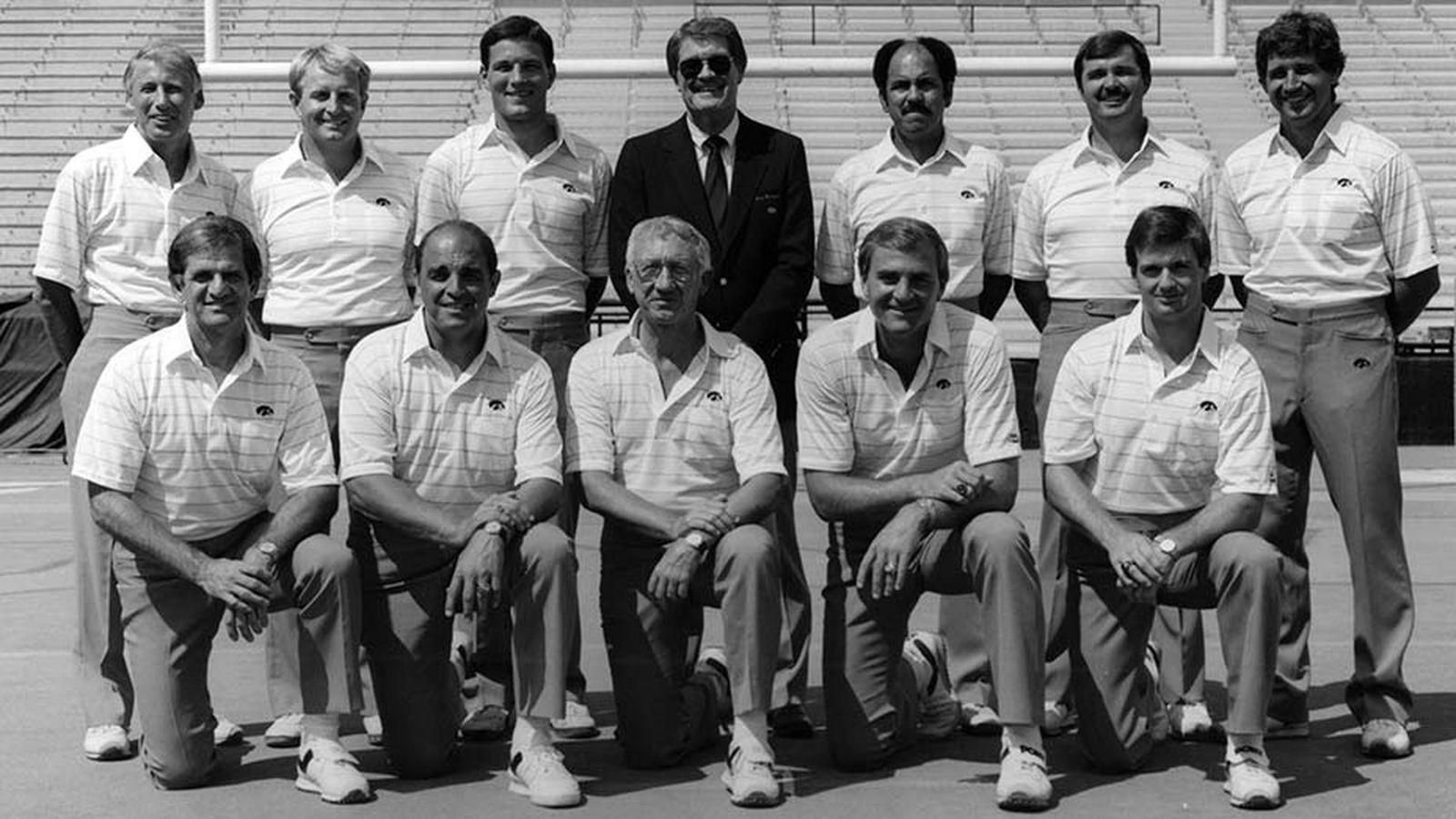 The Base Of The Tree Hayden Fry S 1983 Coaching Staff