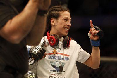 UFC Berlin: Joanna Jedrzejczyk vs. Jessica Penne full fight video highlights