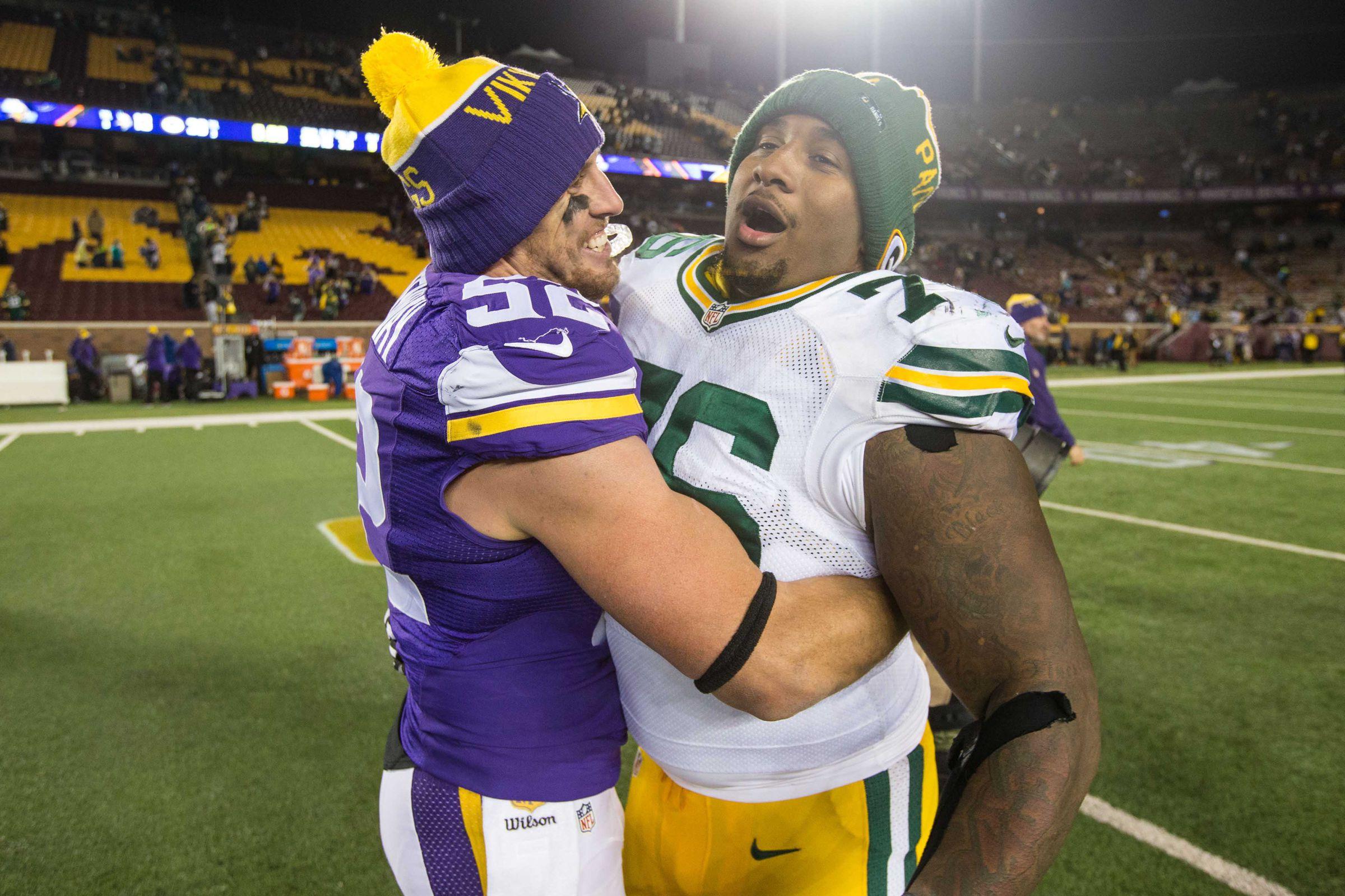 Minnesota Vikings vs. Green Bay Packers: By the numbers
