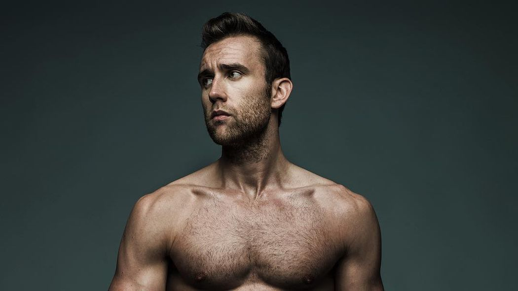 An Outtake from Neville Longbottom's Shirtless Shoot ... Shia Labeouf